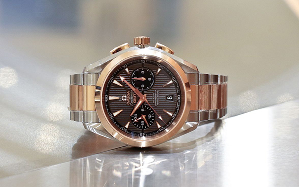 Omega Aqua Terra Chronograph GMT Replica Watches