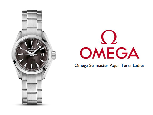 Omega Aqua Terra Ladies Replica Watches