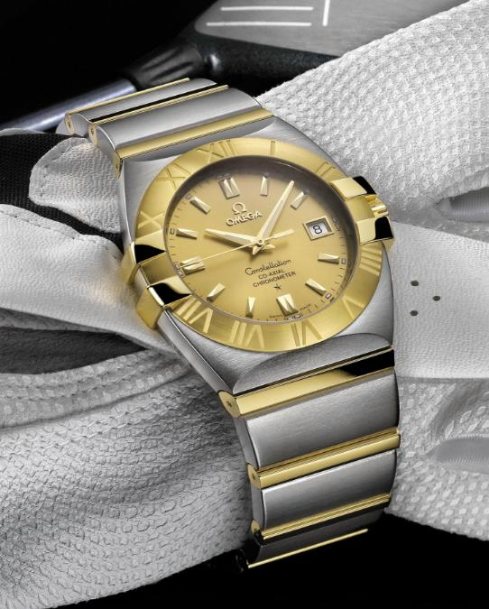 Omega Constellation 35mm Replica Watches