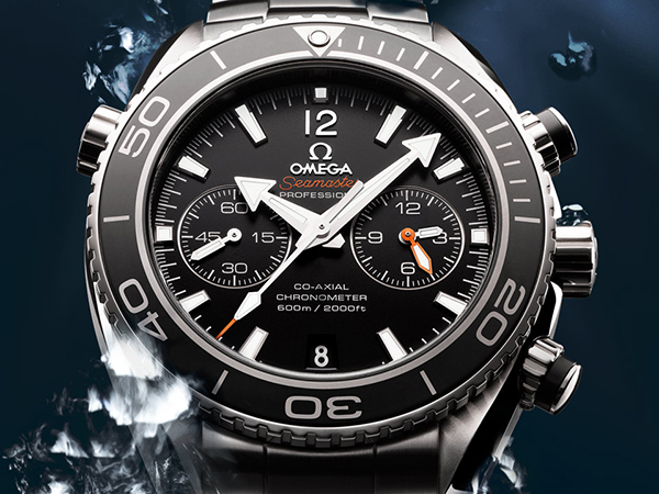 Omega Planet Sea 600m Replica watch