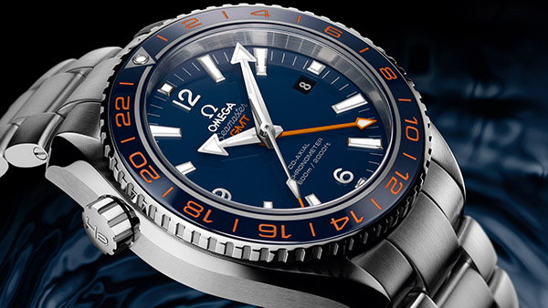 Omega Planet Ocean GMT Replica Watches